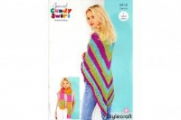 Stylecraft candy swirl pattern 9418 crochet